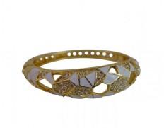 Cecilie Melli Art Deco bracelet White
