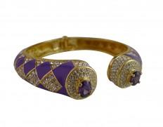 Cecilie Melli Dita bracelet Purple