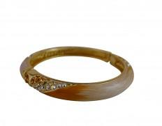 Cecilie Melli Serpentine bracelet Yellow