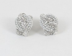 Chain lenke silver pearl