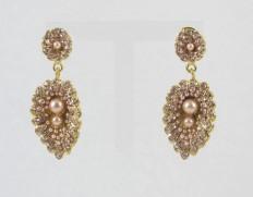 Zarina peach perle
