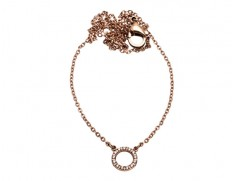 Glow necklace mini rose