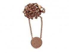 80856 Dottie short necklace rose gold