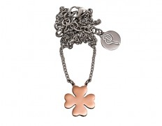 81099 Lucky-necklace-rose-gold