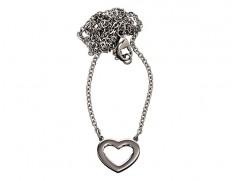 81230 Monaco-heart-necklace-steel
