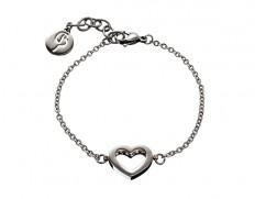 81236 Monaco-heart-bracelet-steel