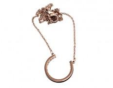 78903 Monaco rosegold U-necklace S