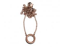 78912 Monaco rosegold mini necklace