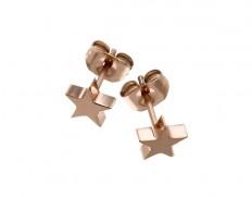 79404 Star studs rosegold