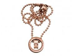 79881 We necklace original rose gold