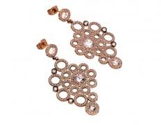 Liz earrings rose gold