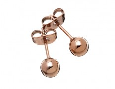 Grapes studs rose gold S
