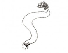 Ida necklace mini steel