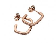 Jolie earrings cz rose gold