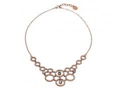 Liz necklace rose gold