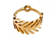 Palm ring gold